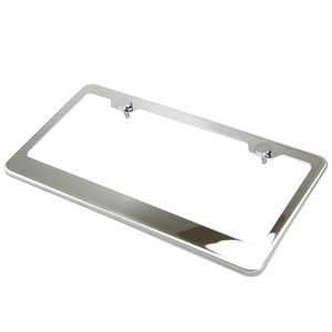 Chrome License Frame